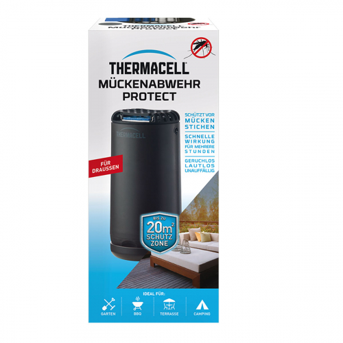ThermaCell Halo Mini schwarz Verpackung